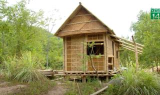 Kinh nghiệm dùng tre luồng làm nhà