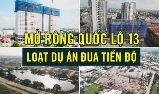 Tiến độ, giá bán 4 dự án mặt tiền Quốc lộ 13 đoạn thành phố Thuận An