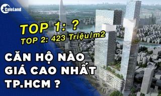 Top 5 dự án căn hộ có giá bán cao nhất TPHCM