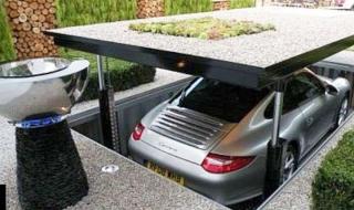 Những biệt thự triệu USD sở hữu mật thất và garage dưới lòng đất
