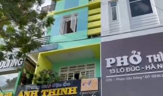 Dập tắt vụ cháy lớn ở tầng 4 của toà nhà tại Đà Nẵng