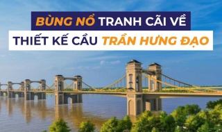 Tranh cãi quanh cây cầu 9.000 tỷ mang phong cách Đông Dương giữa Thủ đô