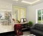 Làm đẹp nội thất phòng khách với vách ngăn CNC
