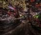 Night Clubvới trần nhà nhấp nhô độc đáo và kỳ dị