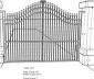 Kích thước cổng nhà chuẩn phong thủy