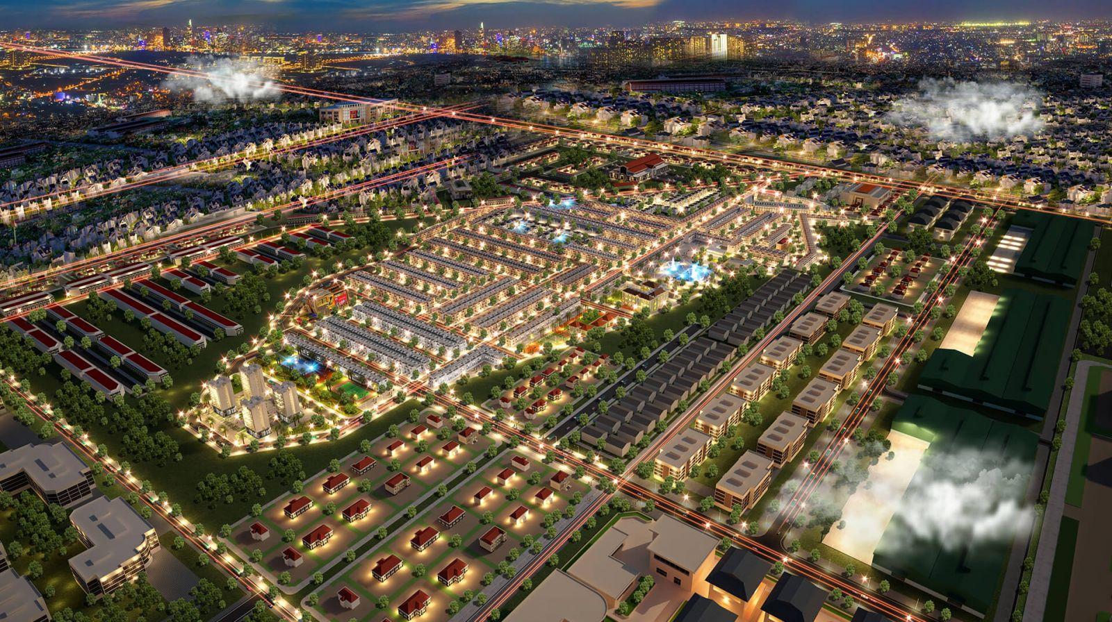 Quy mô dự án đất nền PNR Estella Đồng Nai