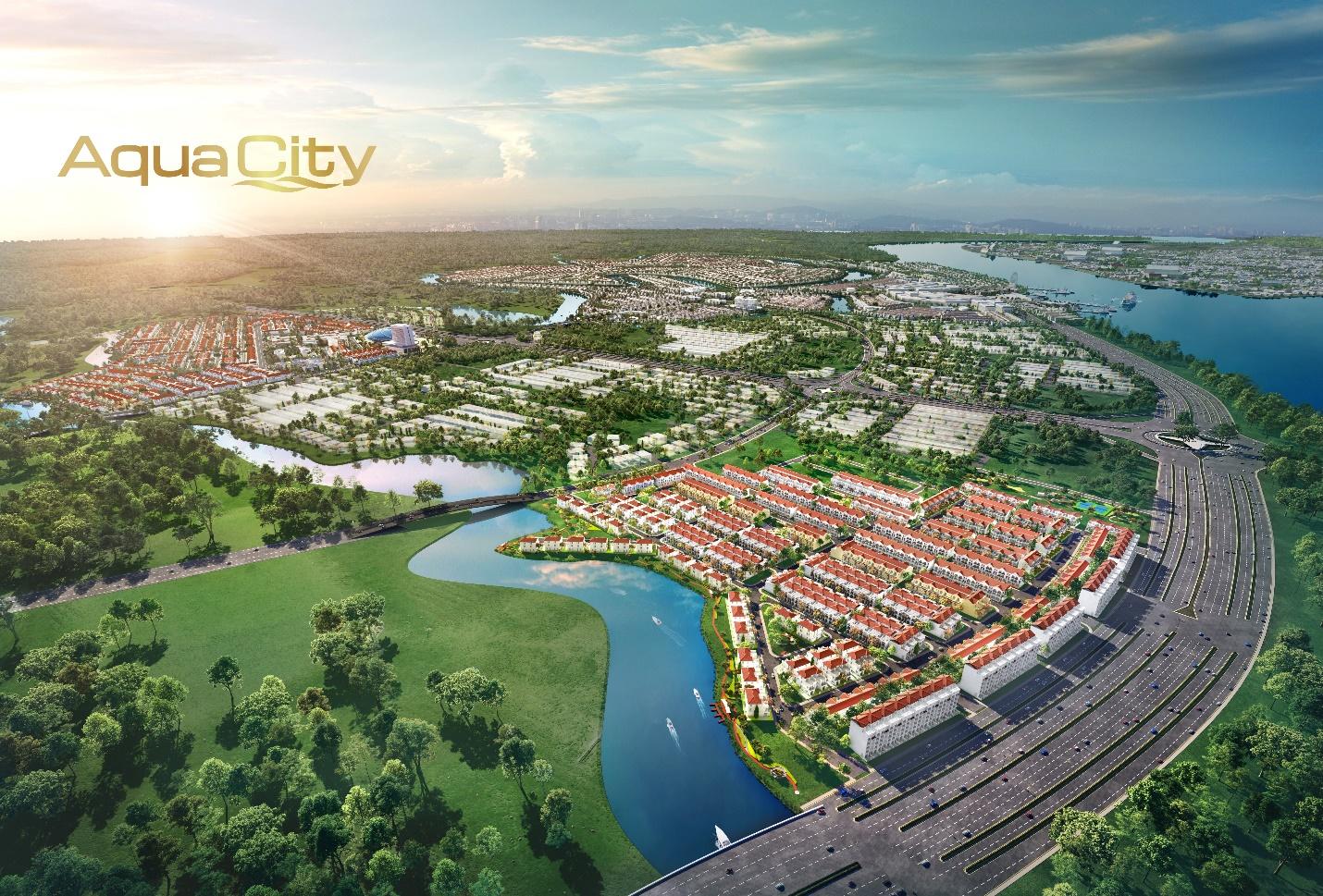 Vì sao giới đầu tư quyết định xuống tiền cho phân khu River Park 1 tại Aqua City?