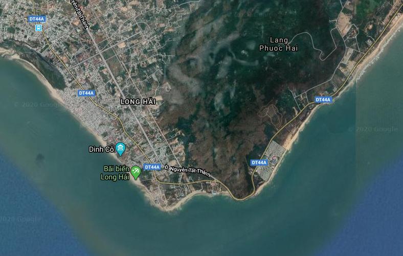 Bà Rịa – Vũng Tàu: Duyệt quy hoạch 1/2000 Khu vực Long Hải với cáp treo núi Minh Đạm, công viên giải trí Suối Tiên