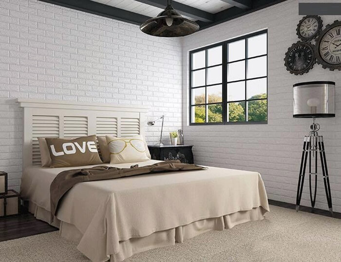 Nên sử dụng xốp dán tường hay giấy dán tường để trang trí nhà?