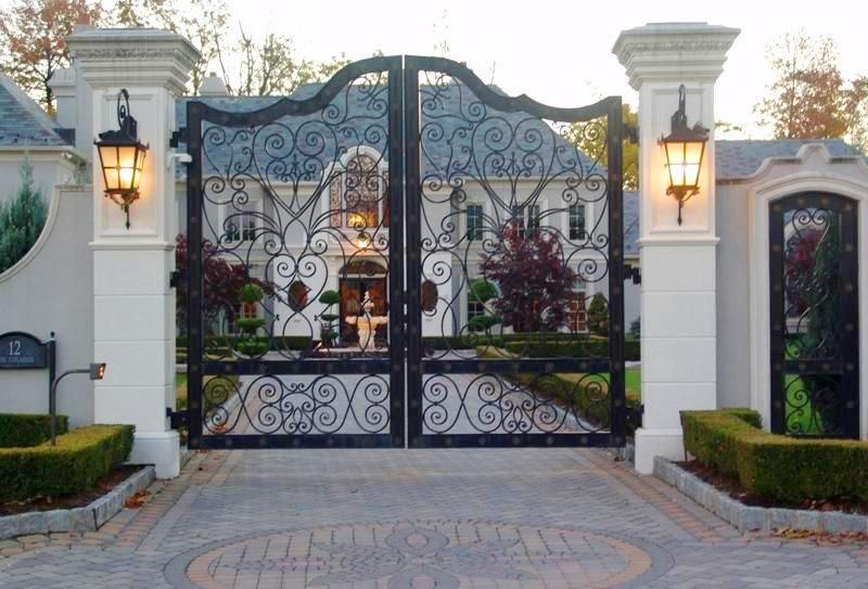 5 mẫu cổng biệt thự sân vườn đẹp