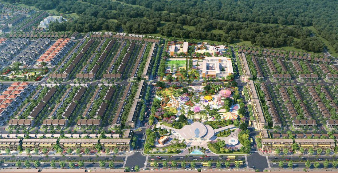 Công viên Sky Park dự án Gem Sky World Long Thành