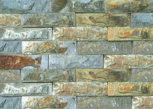 Các loại đá chẻ ốp tường