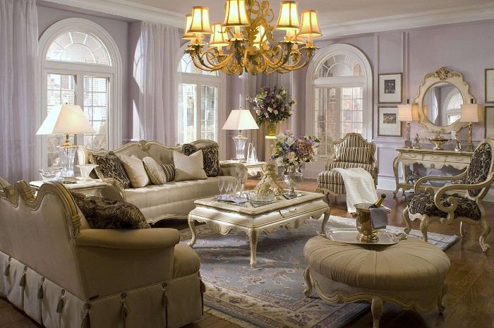 Thiết kế nội thất nhà ở theo phong cách cổ điển