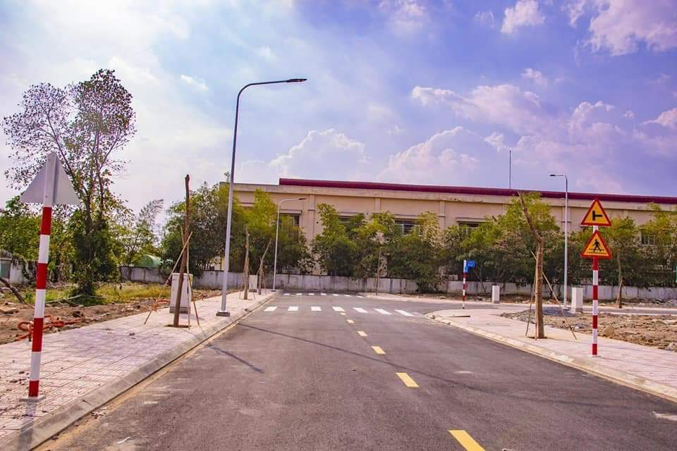 Ảnh thực tế đất nền Sài Gòn Centre Gate Long An