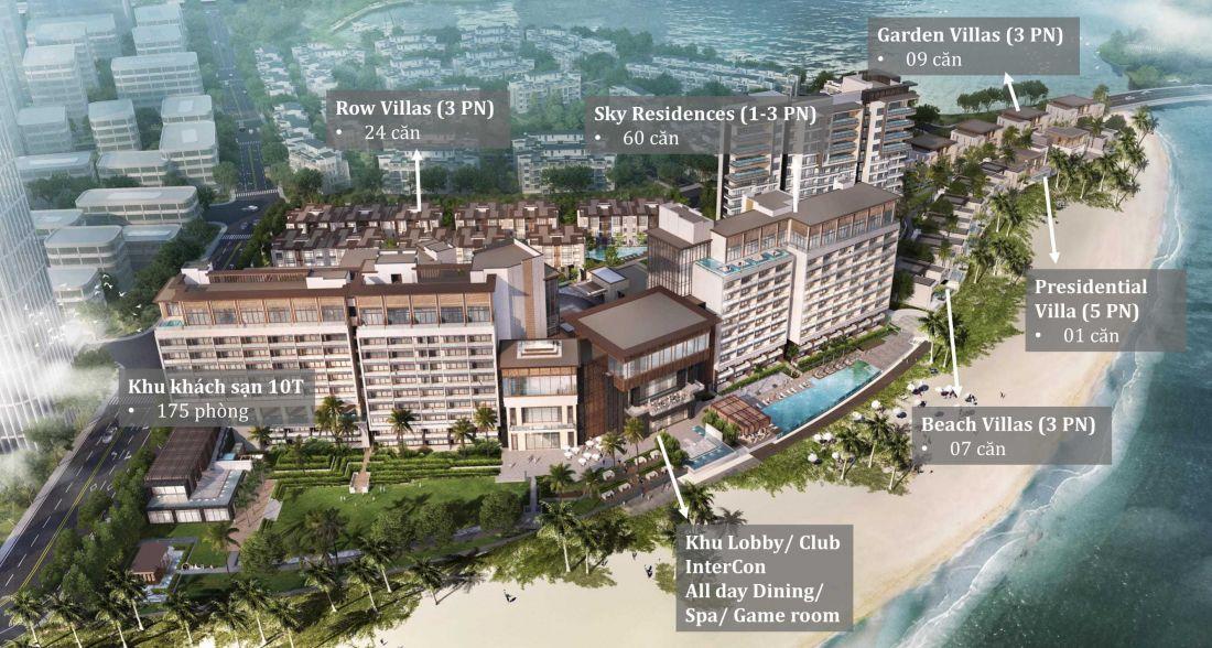 Tổ hợp biệt thự, khách sạn InterContinental Halong Bay