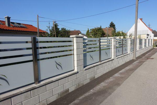 Các mẫu hàng rào xây đẹp cho biệt thự