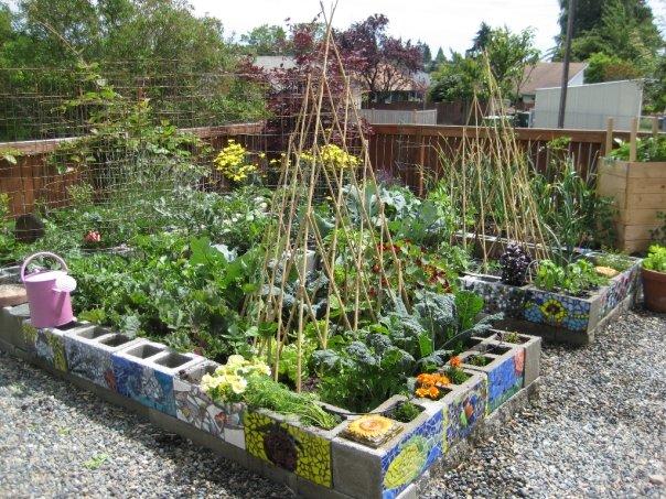 7 mẫu tiểu cảnh sân vườn đẹp, đơn giản