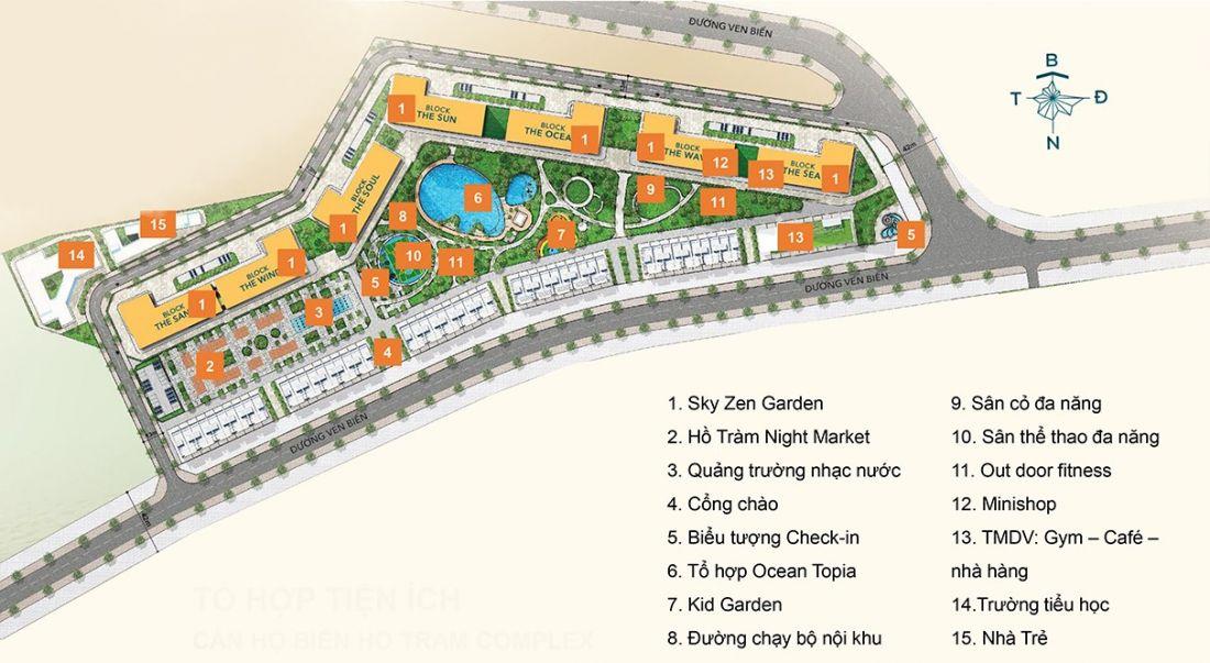 Căn hộ Hồ Tràm Complex Xuyên Mộc