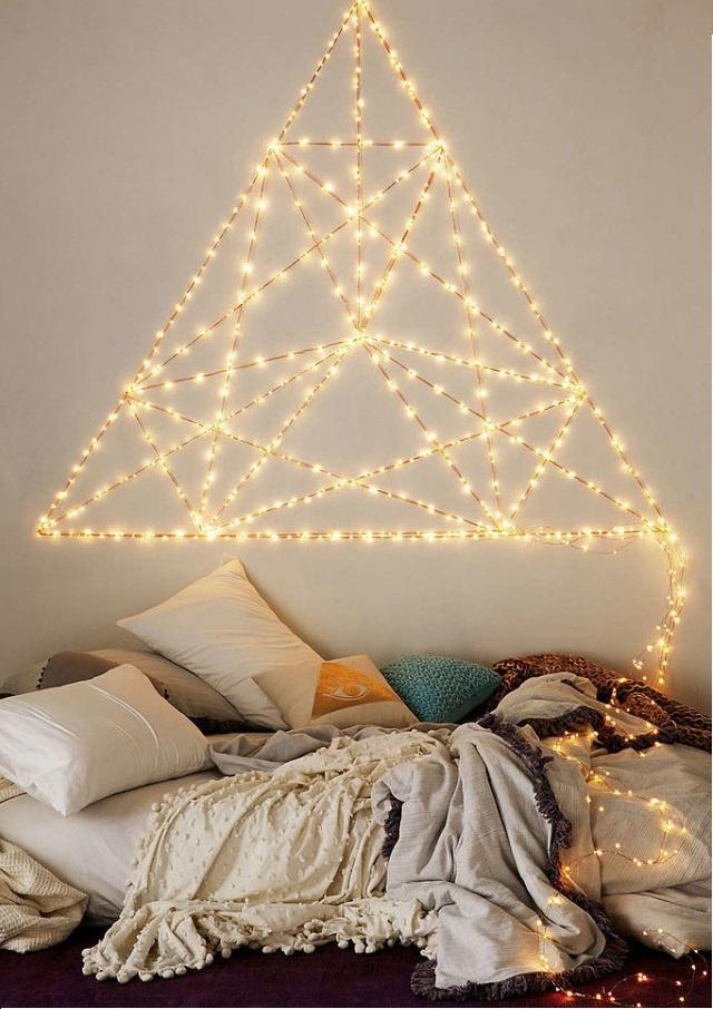 Trang trí phòng ngủ bằng đèn led đẹp