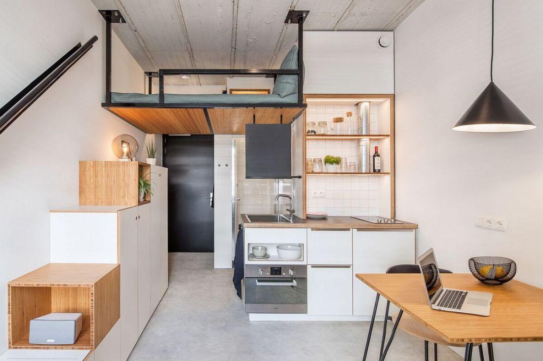 Tự tay thiết kế nhà có diện tích nhỏ chưa đầy 18m2 đẹp lung linh