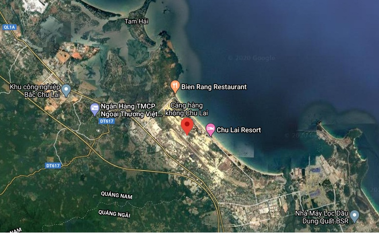 Quảng Nam làm việc với Tập đoàn Vingroup về nâng cấp và mở rộng sân bay Chu Lai