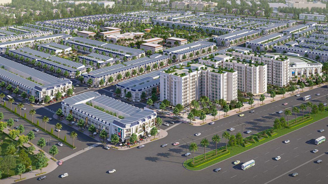 Phân khu Century Center - Dự án Đất nền Century City Long Thành