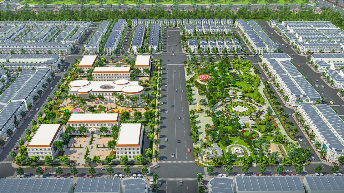 Phân khu Century Park - Dự án Đất nền Century City Long Thành
