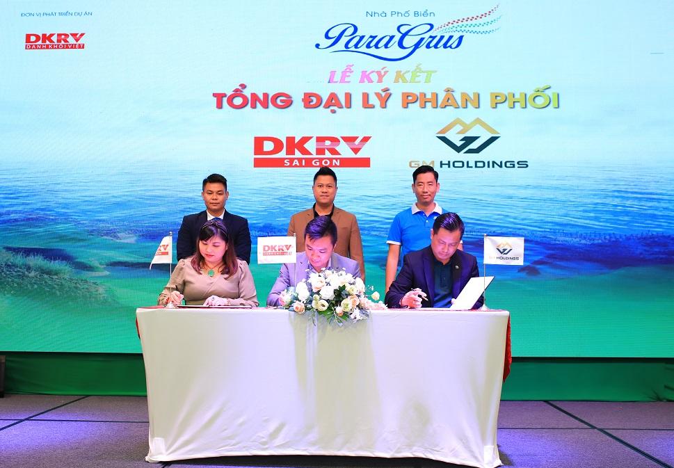 DKRV ký kết Tổng đại lý phân phối Nhà phố biển Para Grus
