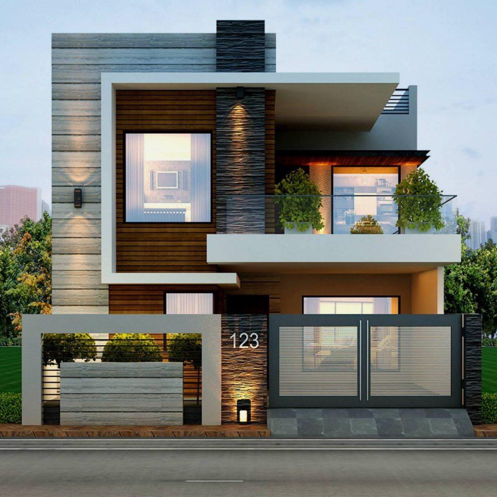 9 mẫu thiết kế nhà phố 2 tầng đẹp