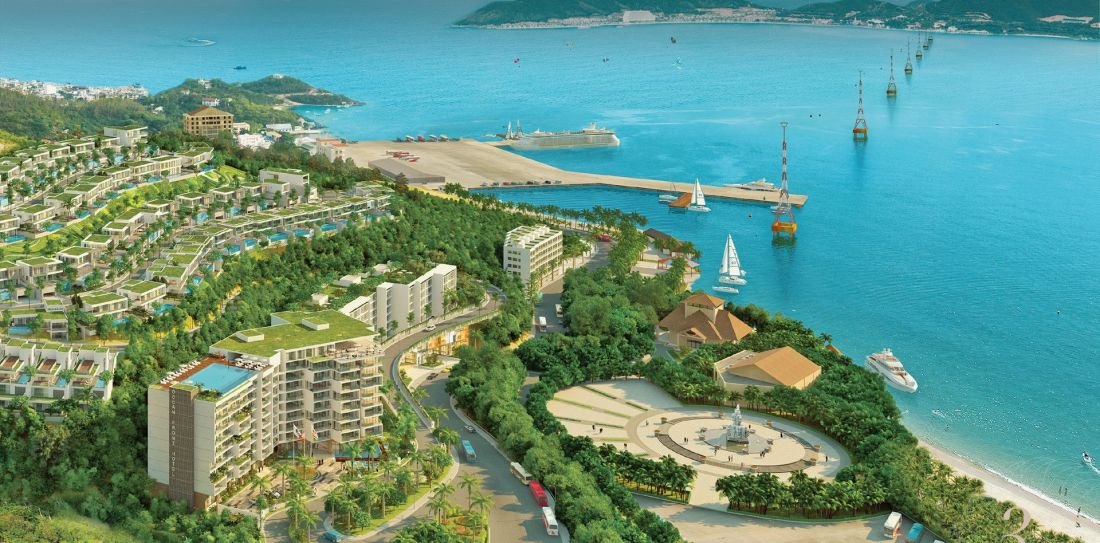 Phân khu căn hộ dịch vụ Ocean Front Condominium
