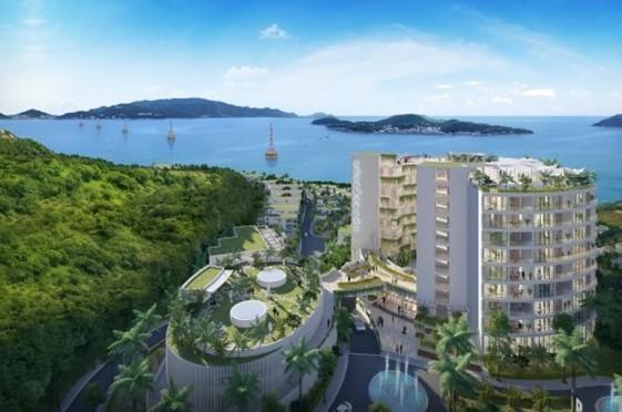 Phân khu phức hợp Ocean Front AquaMarine Suite Apartment
