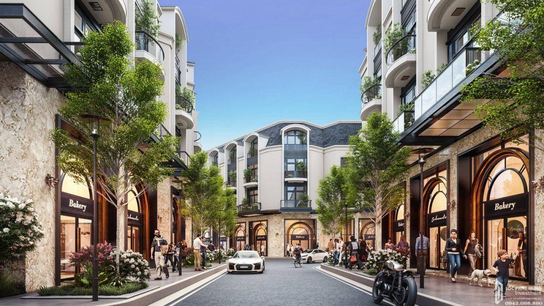Nhà phố dự án Diamond Central Biên Hòa