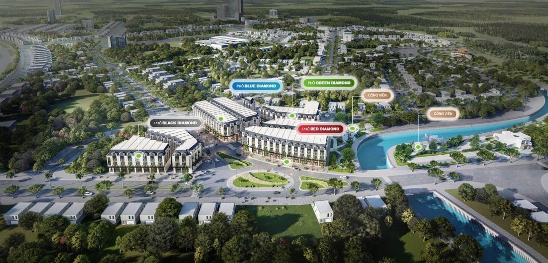 Quy mô dự án Diamond Central Biên Hòa