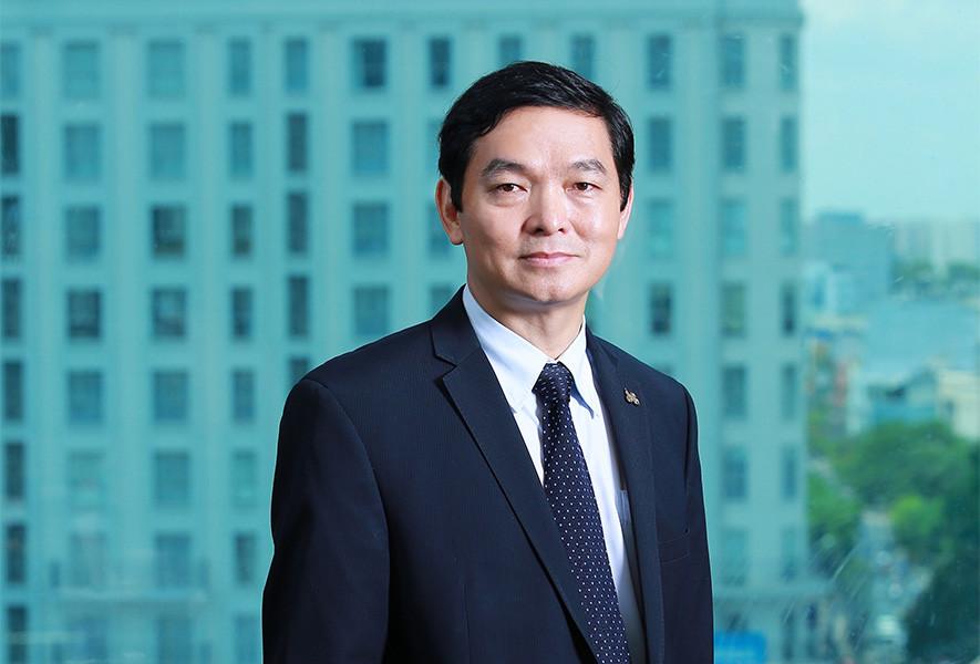 Ông Lê Viết Hải - Chủ tịch HĐQT, Tổng giám đốc Tập đoàn Xây dựng Hòa Bình