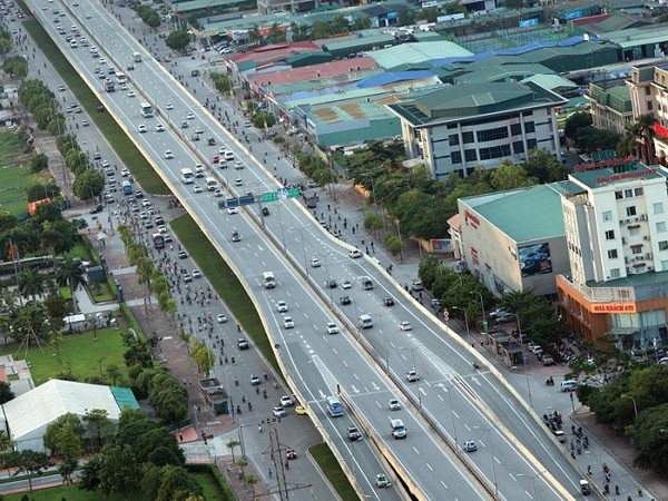 Dự án giao thông ở Vĩnh Phúc