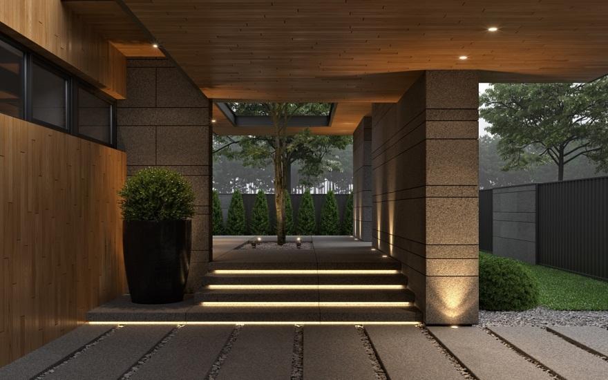 Ý tưởng tuyệt vời thiết kế lối cửa ra vào