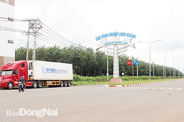 Khu công nghiệp Long Khánh (TP.Long Khánh) dự kiến sẽ đưa vào quy hoạch để mở rộng diện tích thêm 500ha so với hiện tại. Ảnh: K. Minh