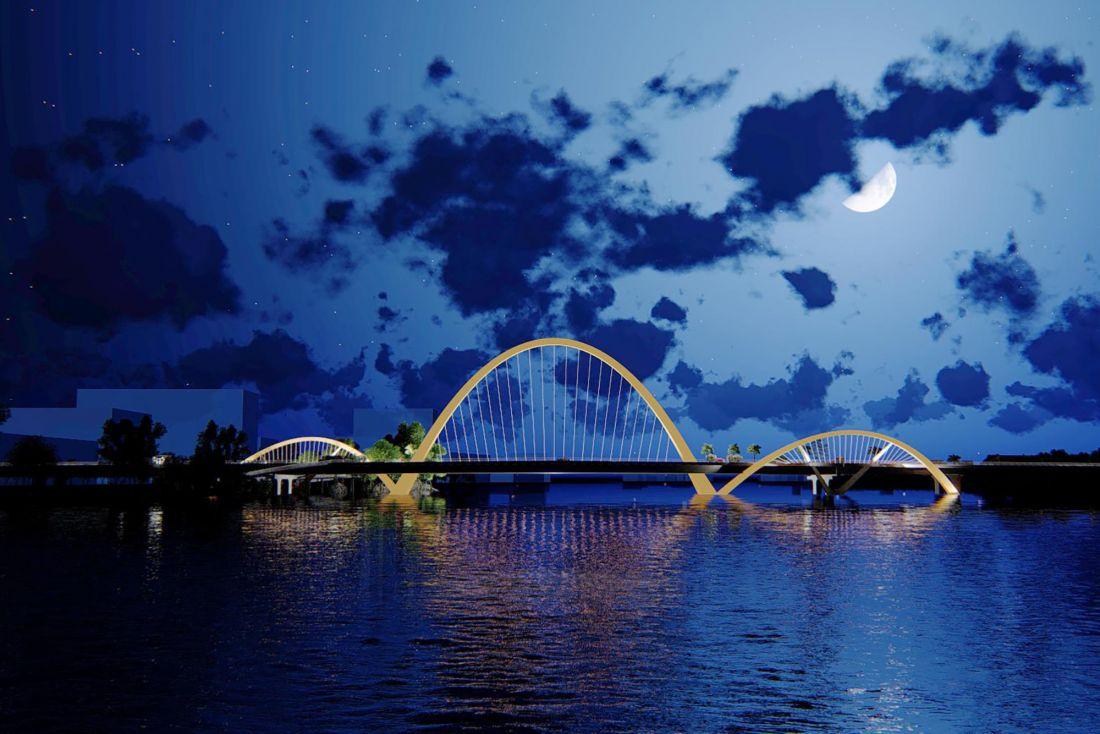 Dự kiến trong tháng 8/2020, cầu Cửa Lục 3 tiếp tục được khởi công.