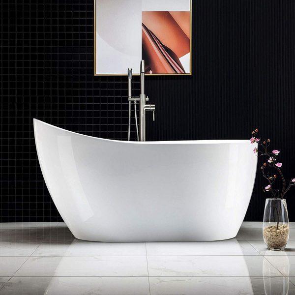 Thanh lịch, sang trọng với những mẫu bồn tắm đẹp
