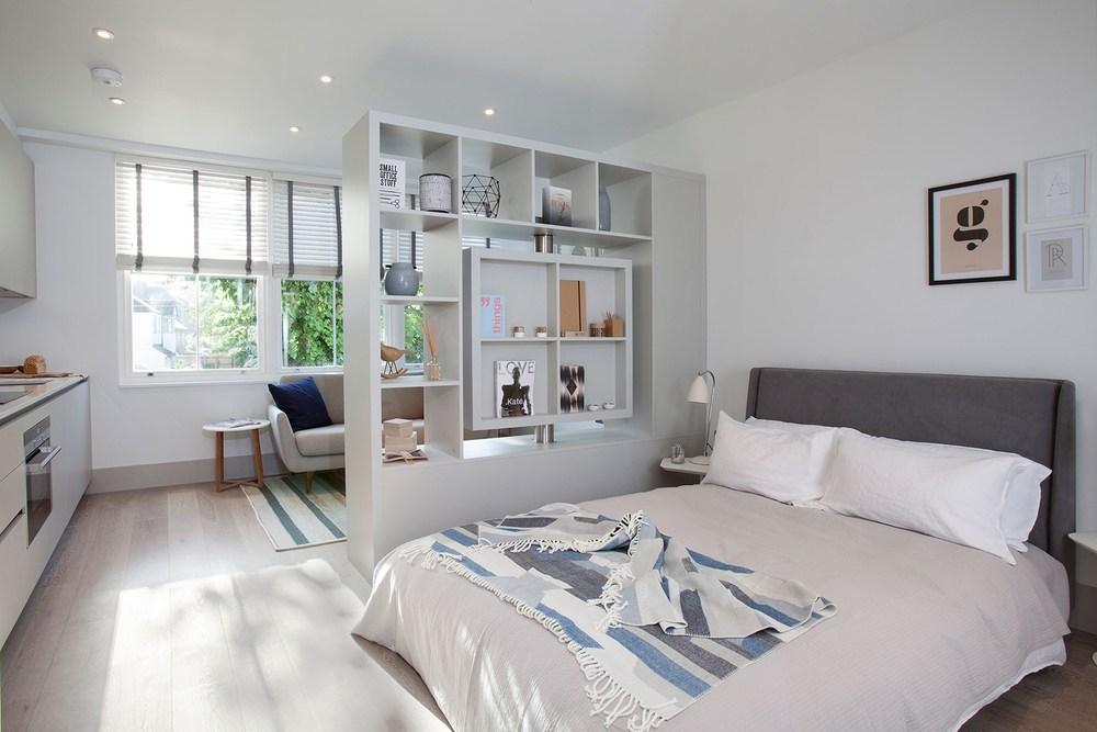 Vách ngăn phòng ngủ bằng thạch cao