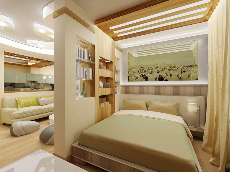 Mẫu vách ngăn phòng ngủ bằng thạch cao