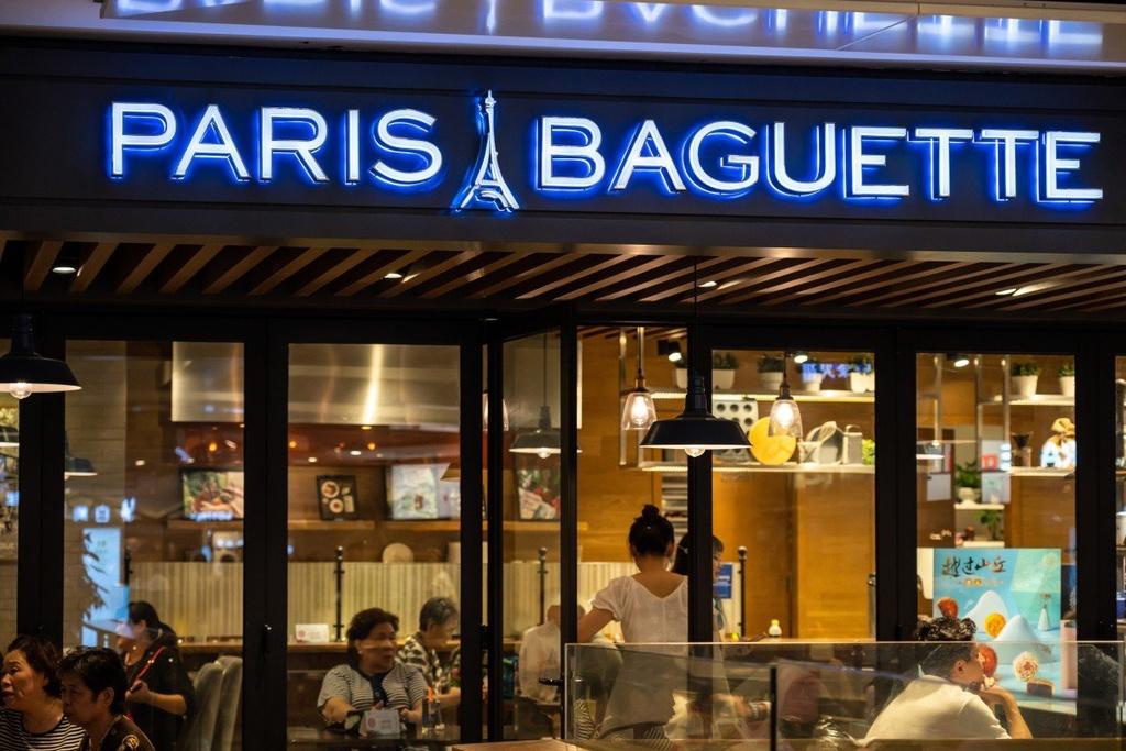 Một cửa hàng Paris Baguette ở Thượng Hải, Trung Quốc. Ảnh: Getty Images.