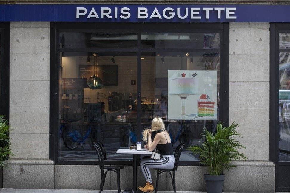 Một cửa hàng Paris Baguette Boulangerie ở New York. Ảnh: Bloomberg.