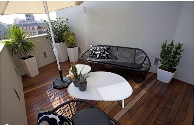 Ý tưởng thiết kế sân thượng nhà ống đẹp