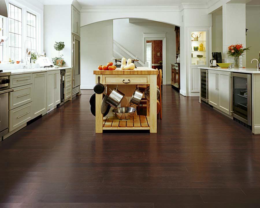 Sàn nhựa Vinyl được ứng dụng cho phòng bếp