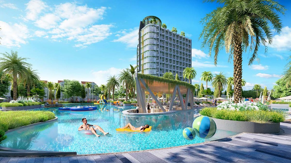 Căn hộ condotel The Farosea - Tropical Ocean Villa & Resort Bình Thuận
