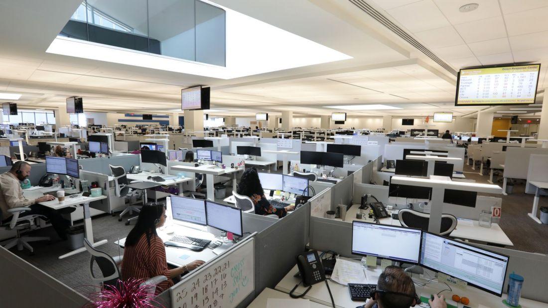 Tỷ lệ văn phòng và căn hộ bị bỏ trống tại Mỹ tăng