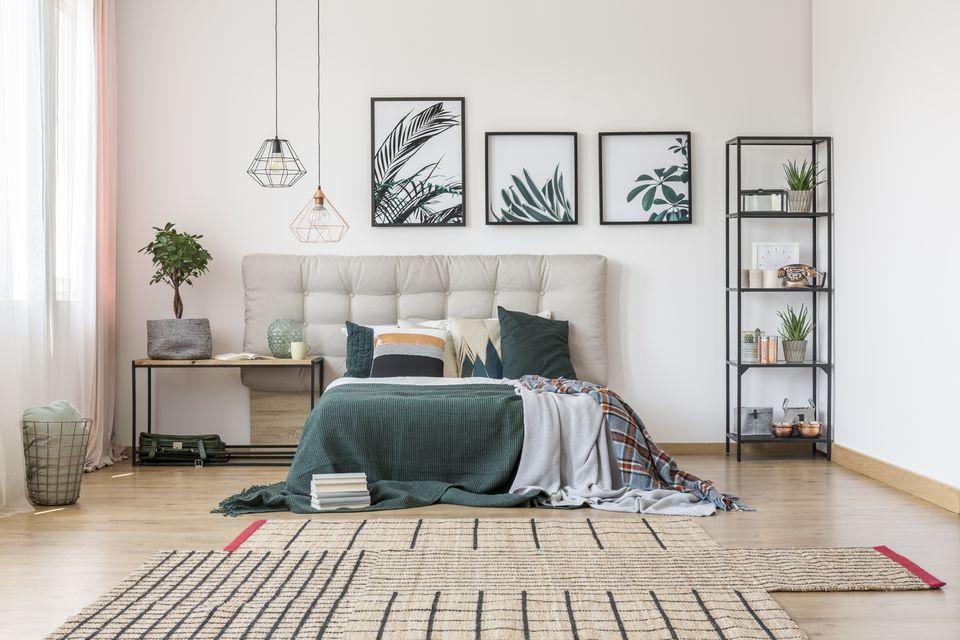 Màu trắng – Màu sơn phòng ngủ đẹp hợp với người mệnh Kim
