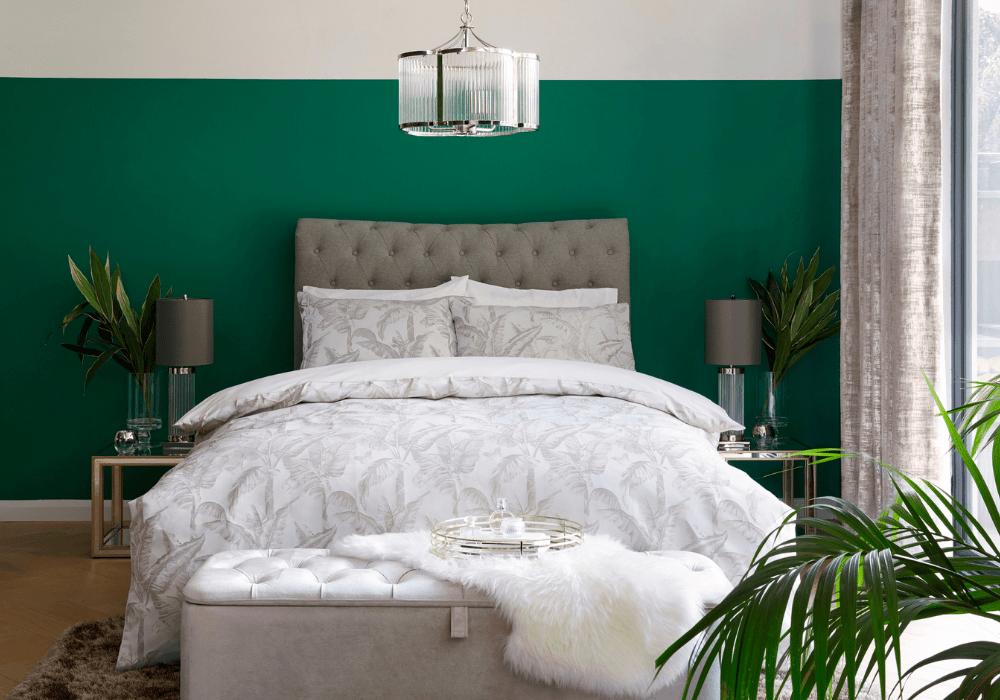 Phòng ngủ xanh lá cây 4
