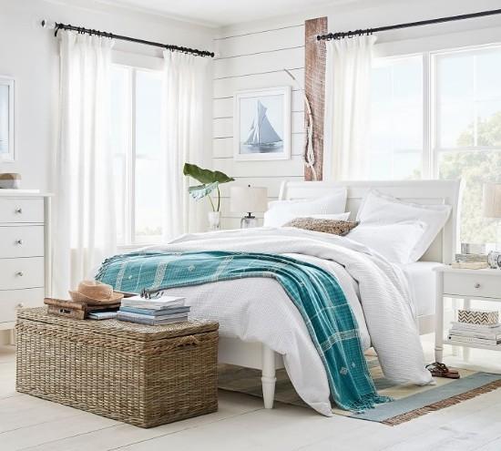 Phòng ngủ màu trắng 3